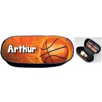 Trousse à crayons Basketball personnalisée avec prénom