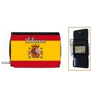 Portefeuille Espagne personnalisé avec prénom