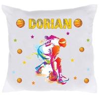 Coussin Basketball BASKET personnalisé avec prénom