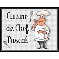 Plaque de porte en aluminium Chef cuisinier personnalisée avec texte au choix