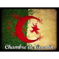 Plaque de porte en aluminium Algérie personnalisée avec texte au choix