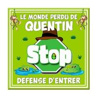 Plaque de porte Aventurier Stop Défense d'entrer personnalisée avec prénom au choix