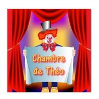 Plaque de porte Cirque Clown personnalisée avec prénom