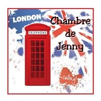 Plaque de porte Anglais londres london personnalisée avec prénom