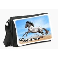 Sac à bandoulière cheval personnalisé avec le prénom de votre choix