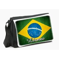 Sac à bandoulière brésil personnalisé avec le prénom de votre choix