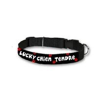 Collier pour chien humour Chien tendre personnalisé avec son nom