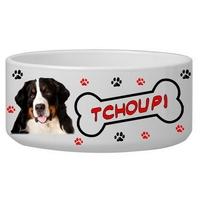 Gamelle pour chien Bouvier personnalisée avec le nom de votre animal