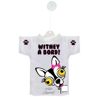 Mini tee shirt voiture Chien à Bord Chihuahua Miss Chiwouaf  personnalisé
