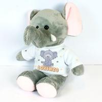 Nounours Eléphant personnalisé avec le prénom de votre choix