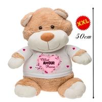 Nounours ourson géant Amour personnalisé avec deux prénoms