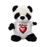 Nounours Panda personnalisé avec prénom