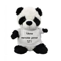 Nounours Panda personnalisé avec votre message