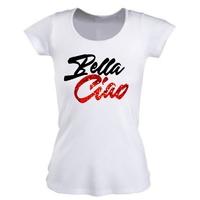Tee shirt Femme Bella ciao