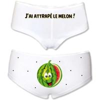 Shorty femme humour J'ai attrapé le melon !