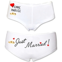 Shorty femme Just married Femme Mariée ! Mariage