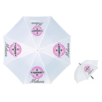 Parapluie Adulte Elue meilleure marraine personnalisé avec prénom