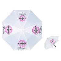 Parapluie Adulte Elue meilleure nounou personnalisé avec prénom