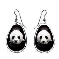 Boucles d'oreilles Panda