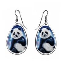 Boucles d'oreilles Adorable Panda