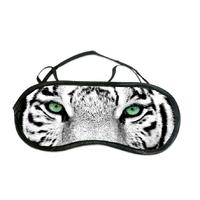 Masque de sommeil ou de nuit Tigre blanc