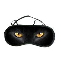 Masque de sommeil ou de nuit Chat noir