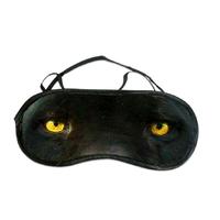 Masque de sommeil ou de nuit panthère noire
