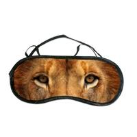 Masque de sommeil ou de nuit Lion