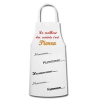 Tablier de cuisine Le meilleur des cuistots c'est....personnalisé avec prénom