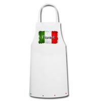 Tablier de cuisine Italie personnalisé avec prénom