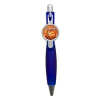 Stylo Basketball personnalisé avec prénom