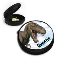 Poche à bons points Dinosaure personnalisée avec prénom