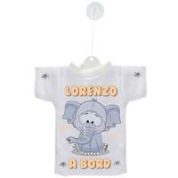 Mini tee shirt ventouse Bébé Eléphant à bord personnalisé avec prénom
