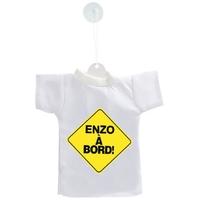 Mini tee shirt ventouse Bébé à bord personnalisé avec prénom