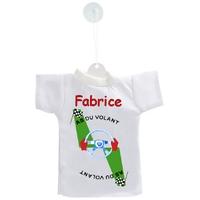 Mini tee shirt ventouse As du volant personnalisé avec prénom