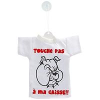 Mini tee shirt voiture Humour Touche pas a ma caisse
