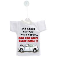 Mini tee shirt voiture Humour  Ma caisse est pas toute neuve....