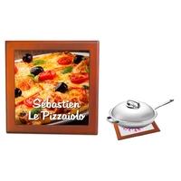 Dessous de plat Pizza personnalisé avec prénom