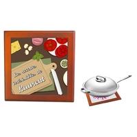 Dessous de plat Les recettes irrésistibles de... personnalisé avec prénom