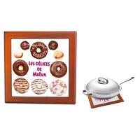Dessous de plat Donuts Patisserie personnalisé avec prénom