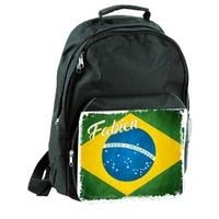 Sac à dos brésil personnalisé avec prénom