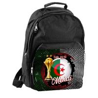 Sac à dos Algérie foot  CAN 2019  personnalisé avec prénom