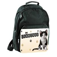 Sac à dos Chat chaton personnalisé avec prénom
