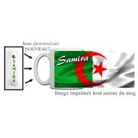 Mug Algérie personnalisé avec prénom avec Anse imprimée !