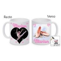 Mug (tasse) incassable Danse classique personnalisé avec prénom