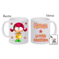Mug (tasse) incassable La petite gourmande personnalisé avec prénom