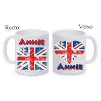 Mug (tasse) Anglais personnalisé avec le prénom de votre choix