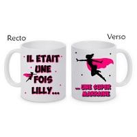 Mug (tasse) Super marraine personnalisé avec le prénom de votre choix