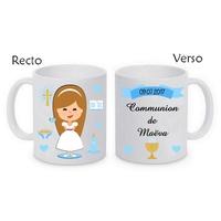 Mug (tasse) Communion fille personnalisé avec le prénom et la date de votre choix