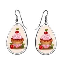 Boucles d'oreilles Cupcake